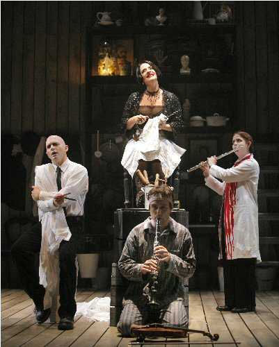 Sweeney Todd on stage