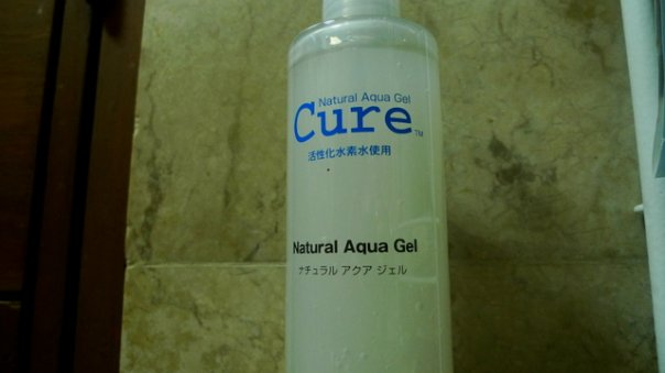 Cure Natural Aqua Gel from Sophie Uy